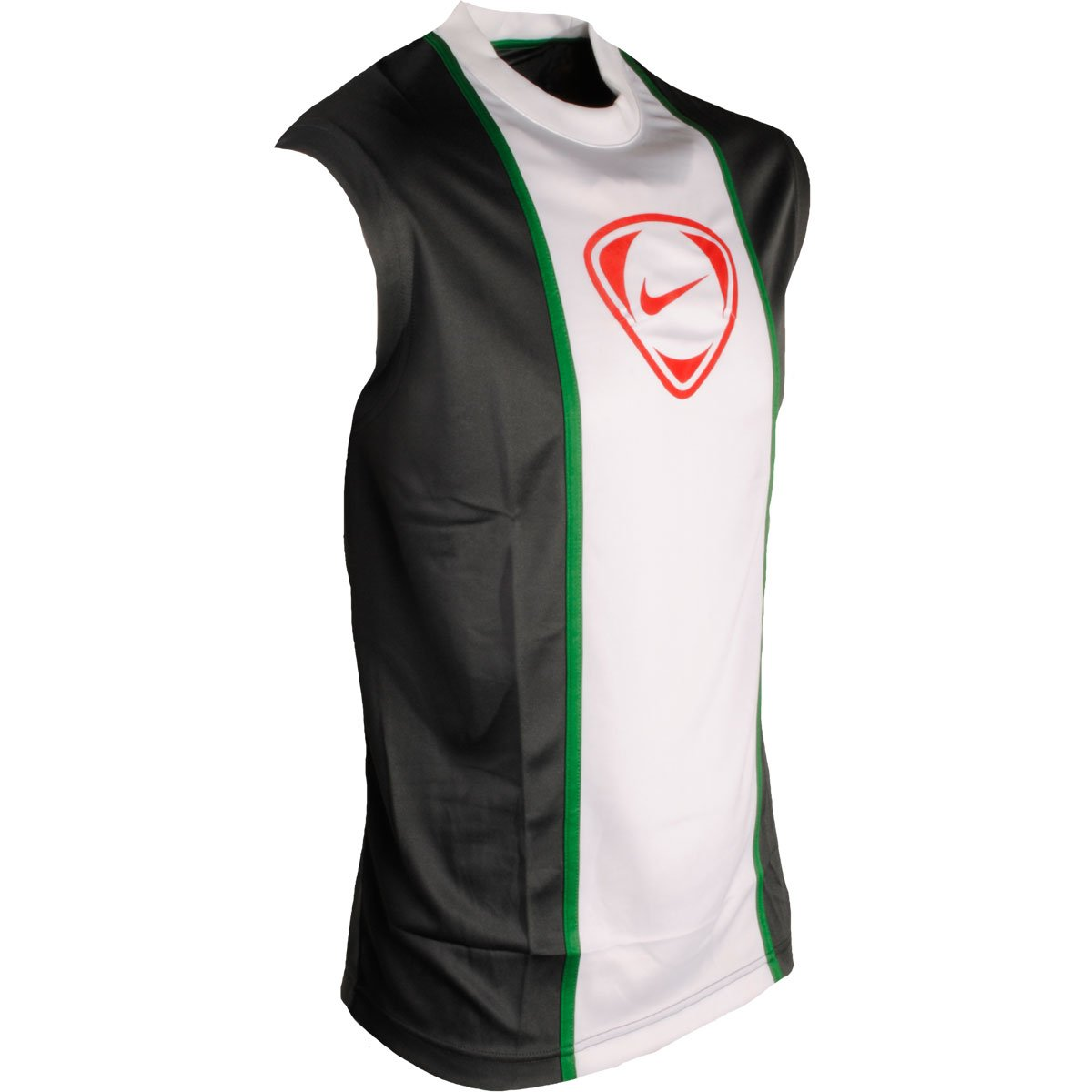 18a867a251c4 Nike Men s Football Swoosh Logo Front Dri-Fit Vest Sleeveless Sports Summer  Tops Multicolour M  Amazon.co.uk  Clothing