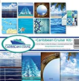 Reminisce CRU-200 Caribbean Cruise Scrapbook Collection Kit