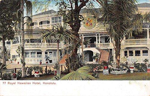 Honolulu Hawaii Royal Hawaiian Hotel Garden View Antique Postcard J73999 (Royal Hawaiian Honolulu)