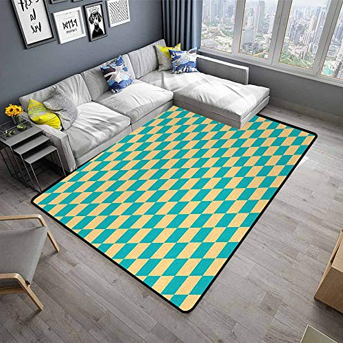 (Geometric,Floor mats for Kids 64