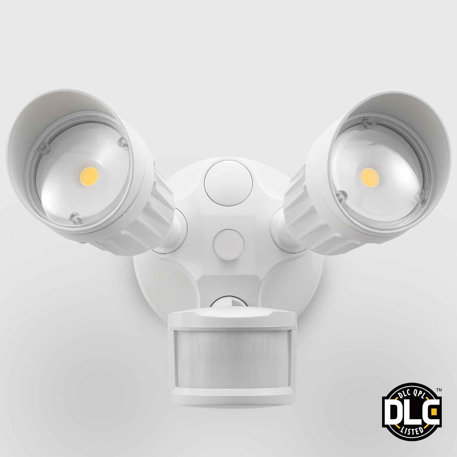 20w dual head motion activated led outdoor security light photo sensor 3 ebay for Exterior light with motion sensor