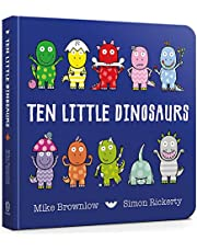 Ten Little Dinosaurs Board Book