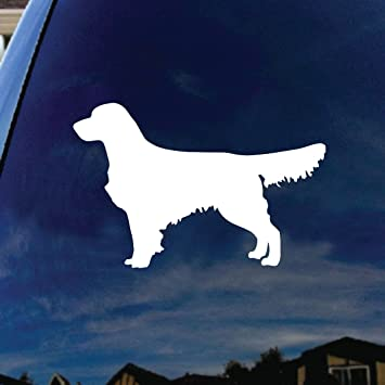 Car 100-I Love My Golden Retriever Chien Dog autocollant des autocollants autocollant