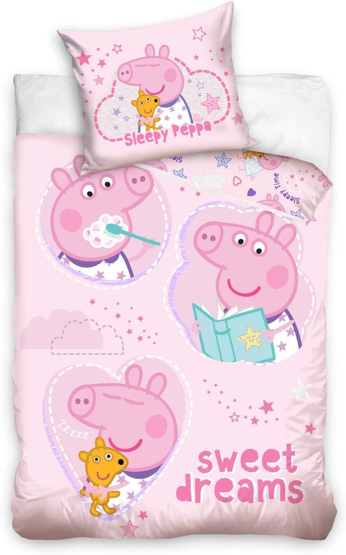 Ppeppa Pig bedlinen - draps de lit - biancheria da letto - ropa de cama 100x135cm PP182017