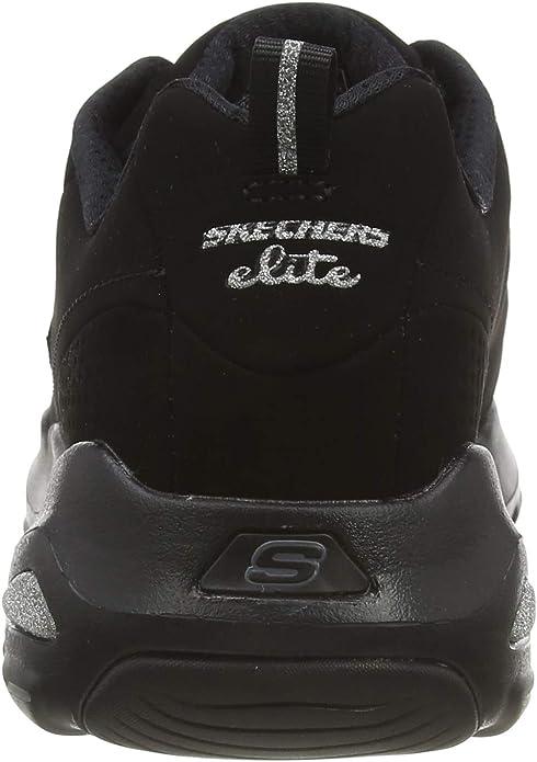Skechers D'Lite Ultra Reverie, Formateurs Femme, Noir (Black), 41 EU