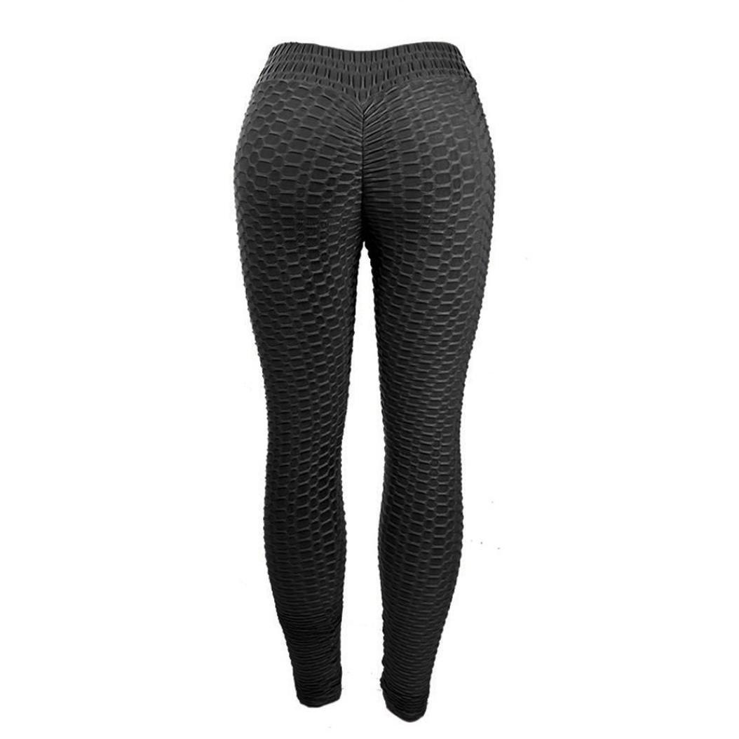 Amazon.com: OOEOO - Mallas de yoga para mujer, cintura en V ...