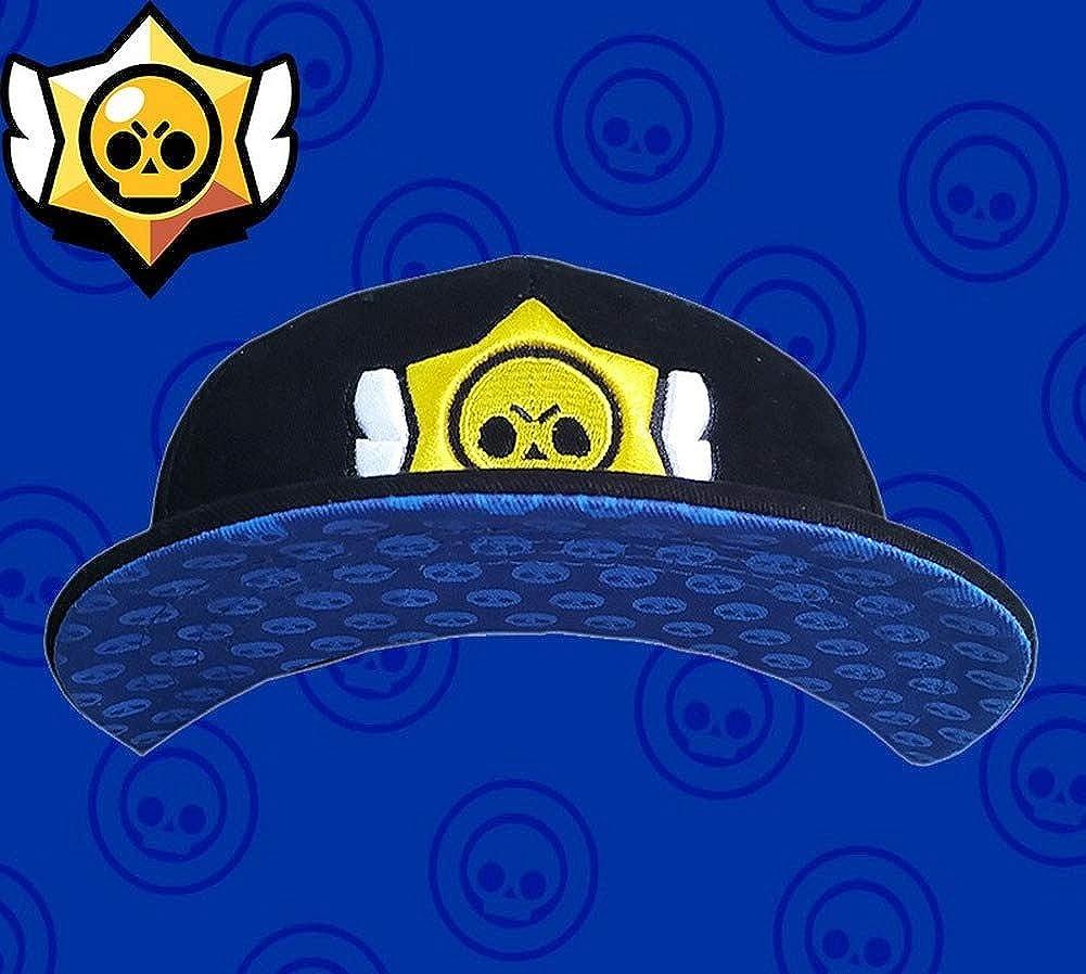 Brawl Stars Ragazze dei Ragazzi Snapback Hip Hop delle Donne degli Uomini del Cappello Parasole Sole Streetwear Stelle FCBD Bambini Cappellini