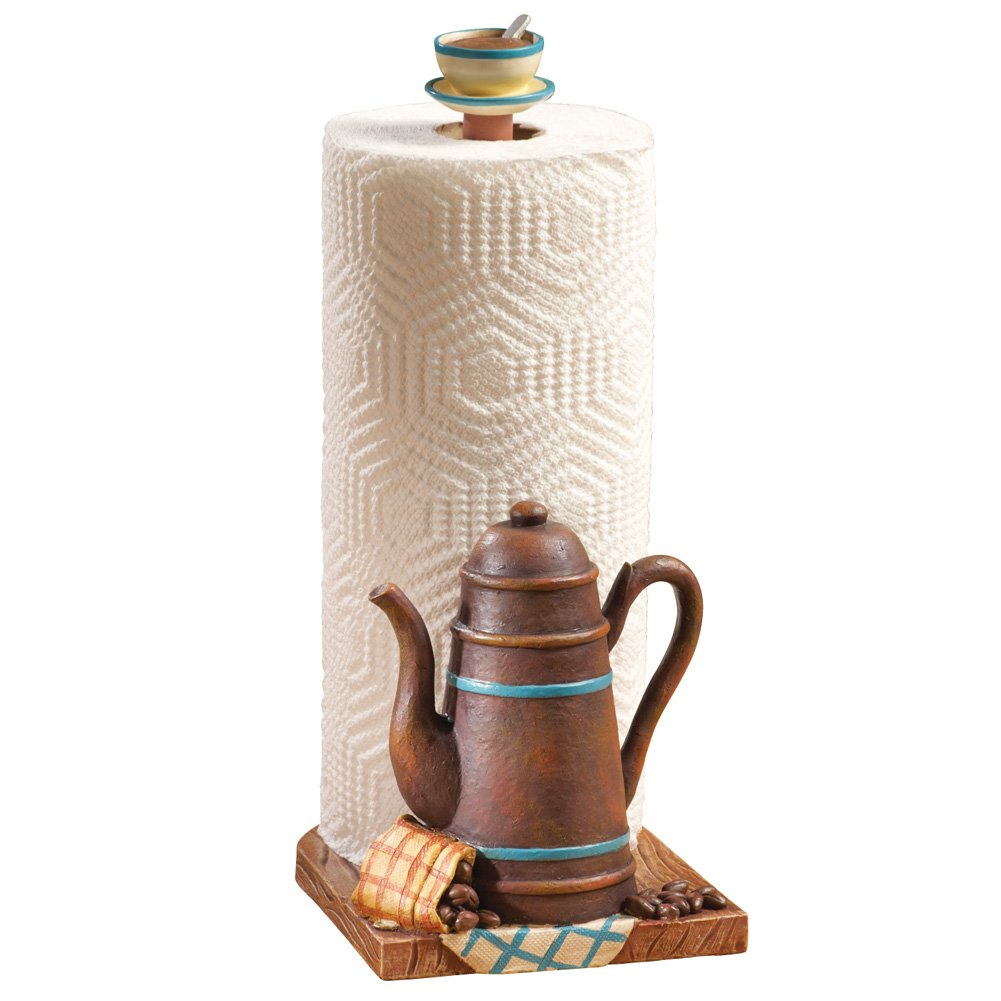 Coffee Pot Kitchen Paper Towel Holder Collections Etc 97266