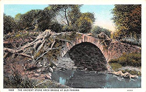 (Ancient Stone Arch Bridge Old Panama Panama)