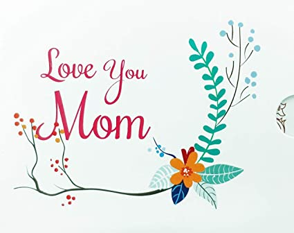 Amazon Pay Gift Card - Gifts for Mom | Sleeve - Love you mom <span at amazon