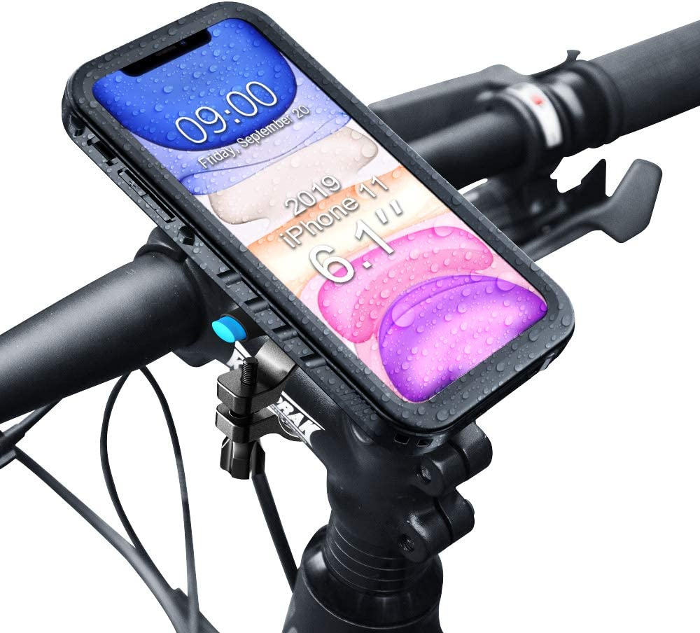 MTB Bicycle Motor Bike Waterproof Phone Bag Mount Holder For All Mobile Phones