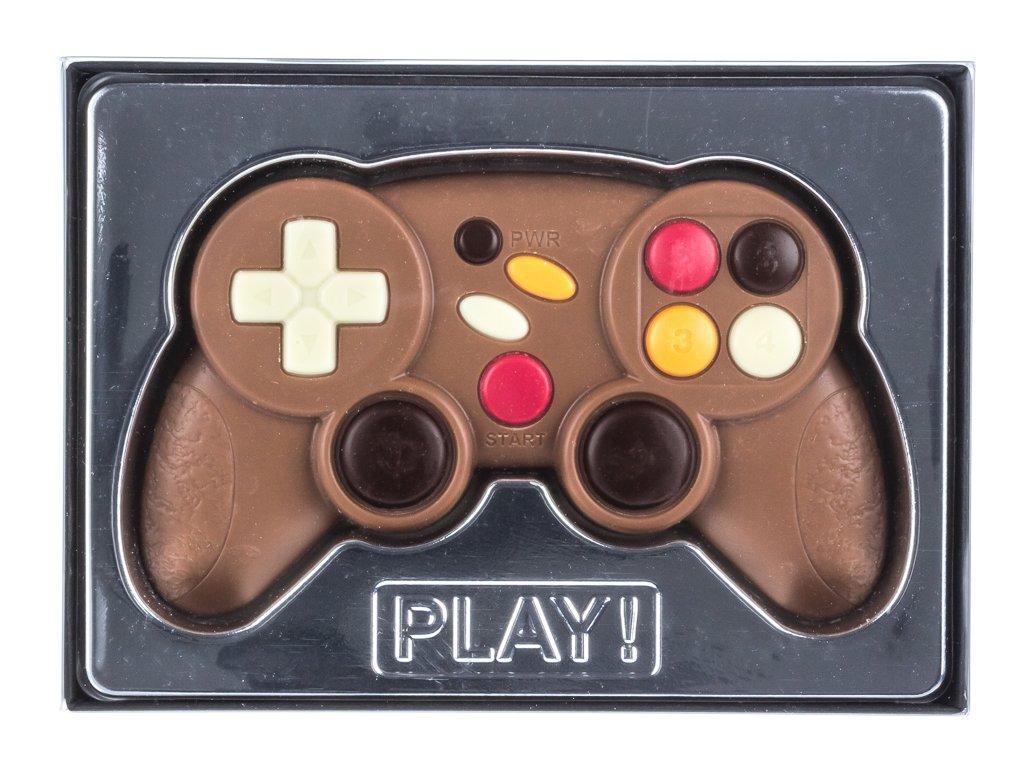 Tavoletta di cioccolato in confezione regalo - tema joystick - 70