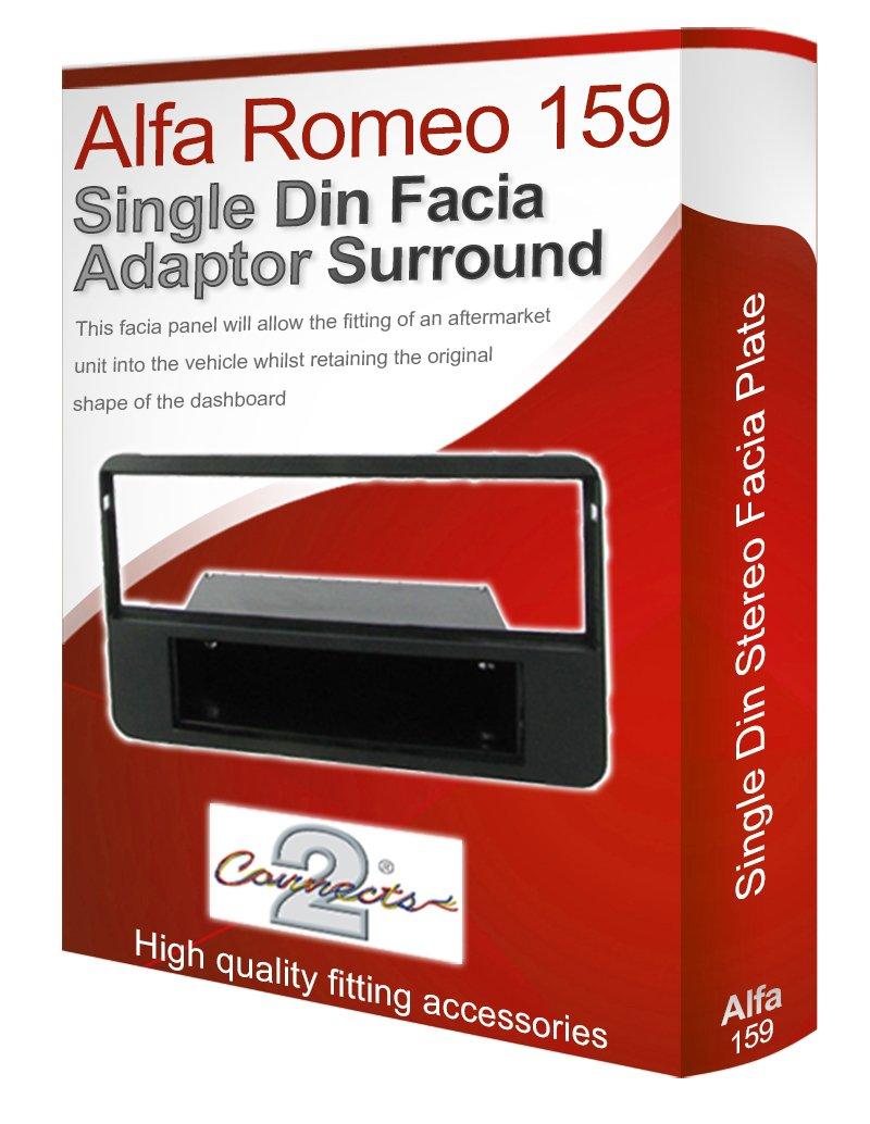ALFA ROMEO 159/Radio st/ér/éo adaptateur Fa/çade dautoradio fa/çade dautoradio panneau plaque//CD Surround