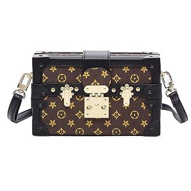 851a58a39 Sinianer Retro Crossbody Bag Purse for Women Fashion Shuldder Bag Ladies  Box Bag (gray)