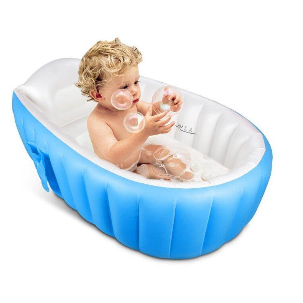 Wlyhome Aufblasbare Babybadewanne Portable Mini Air Pool