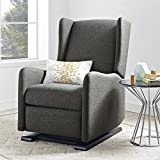 Best Chairs Glider Recliners - Baby Relax Rylee Gliding Recliner, Gray Review