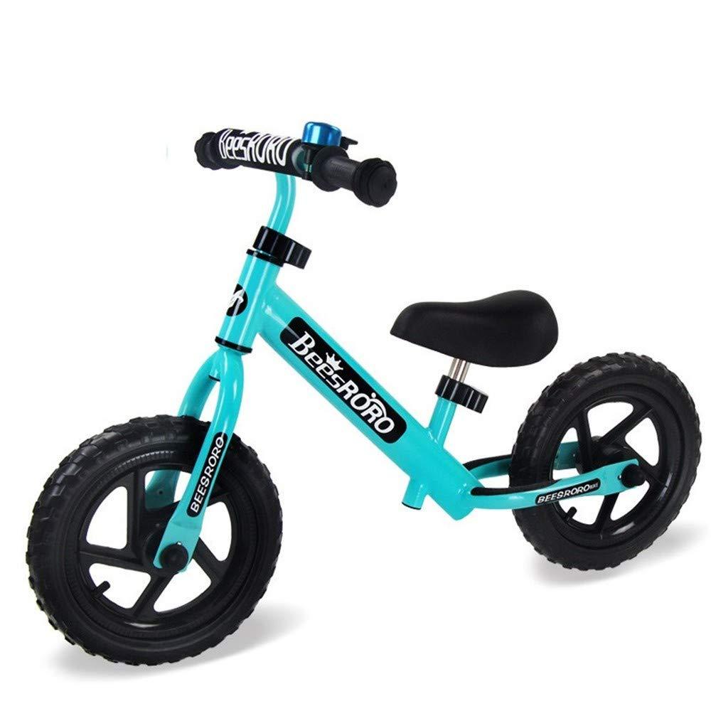 Steaean Equilibrio de la Bicicleta Equilibrio del Coche Scooter yo Coche 12 Pulgadas Bicicleta Doble Rueda sin Pedal