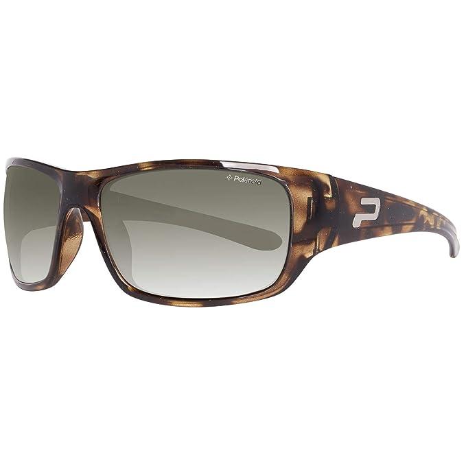 Polaroid P8154-A Gafas de Sol, Marrón, 62 para Mujer: Amazon ...
