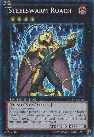Yu-Gi-Oh! - Steelswarm Roach (CT09-EN021) - 2012 Collectors Tins - Limited Edition - Super - Collectors Limited Tin Edition
