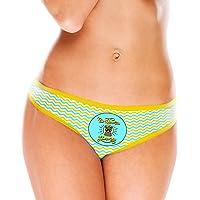 Sassypants Regular Plus Fashion Panties Funny Cute Bachelorette Naughty Novelty Gift with Matching Pasties