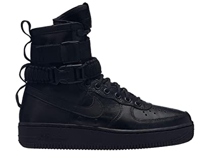 outlet store 427ef 970f3 Nike W SF Af1 Chaussures de Fitness Femme, Multicolore Black/Oil Grey 005,
