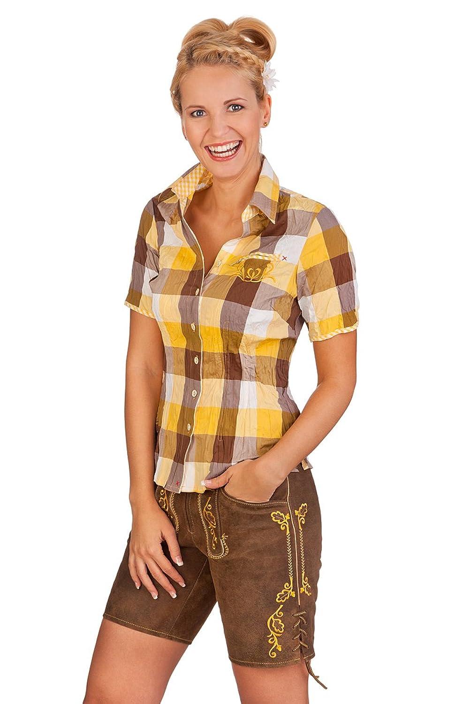 Trachten Damen Lederhose kurz - SIGGI - sonne
