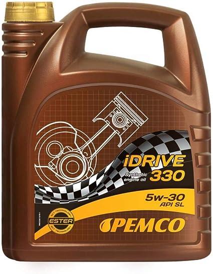 Pemco Aceite 5w30 Lubricante de motor para coche Sintético 5L ...