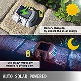Happybuy Solar Driveway Lights with Switch - Dock