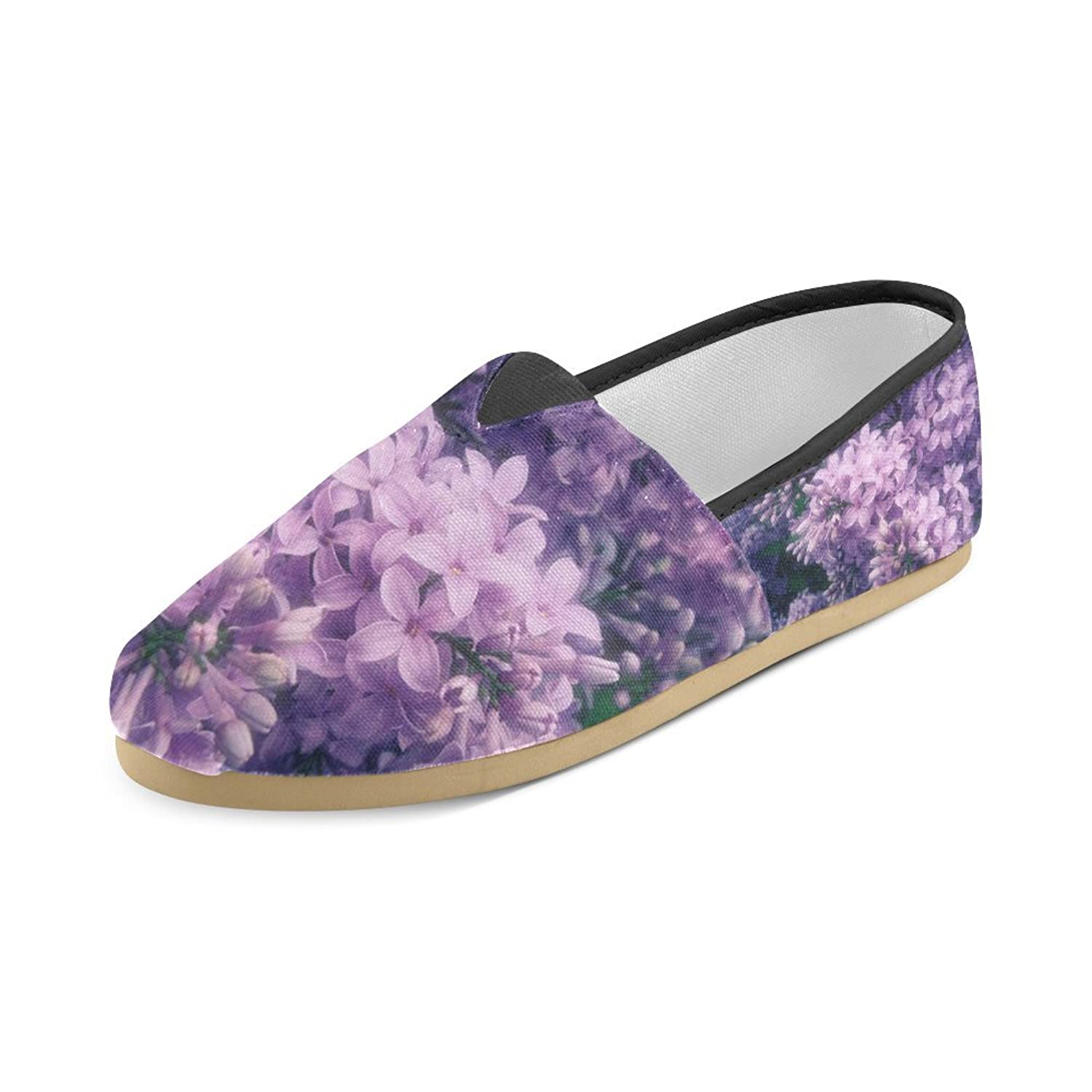 womens wisteria flower mission casual canvas shoes new