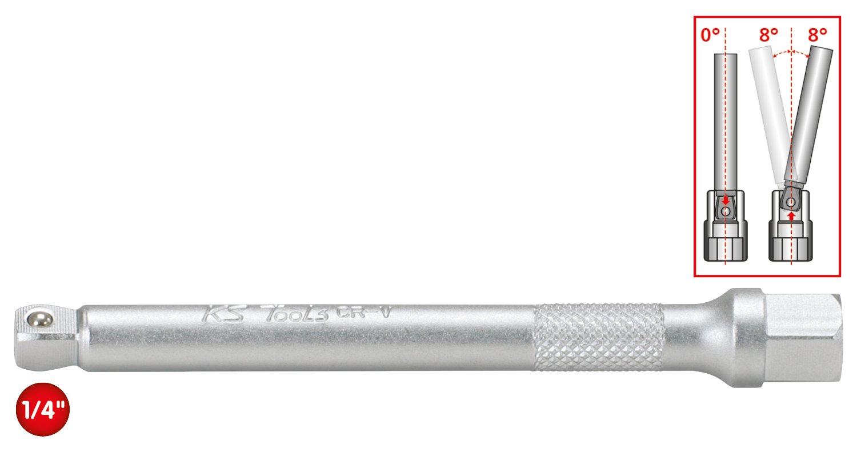 KS Tools 911.1548-1//4extensi/ón bamboleo XXL 350 mm