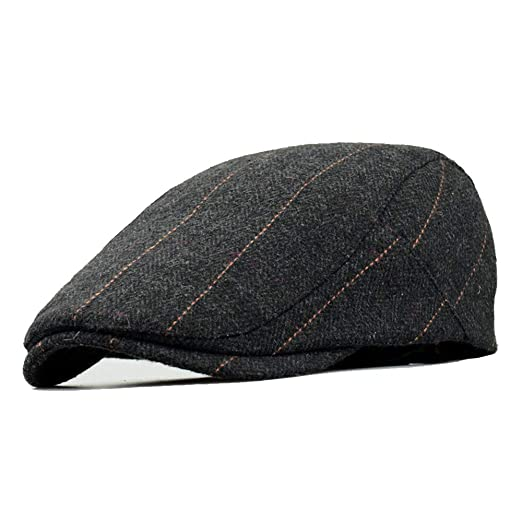 1fc2bcae8 Clape Plaid Ivy Scally Driver Cap Wool Blend Herringbone Tweed Newsboy  Cabbie Gatsby Golf Beret