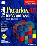 Inside Paradox 4.5 for Windows 9781562052959