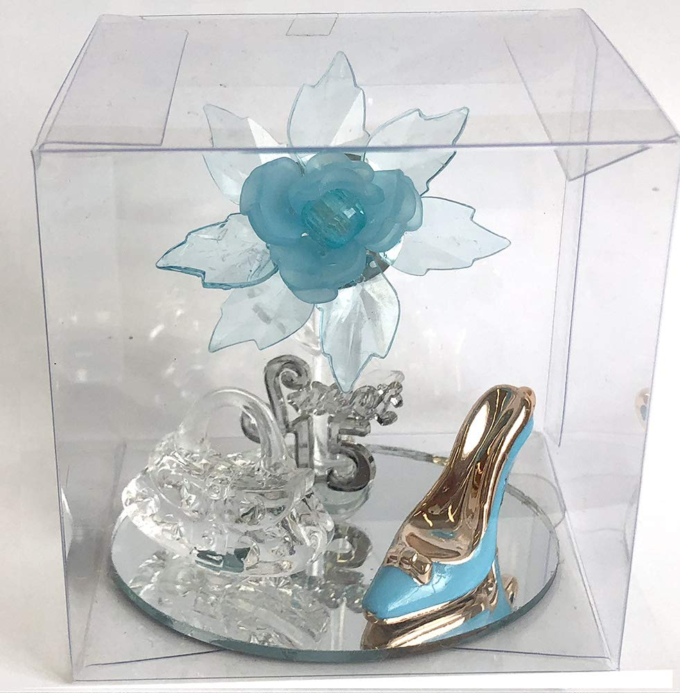 Amazon.com: Sweet 15, Quinceanera Turquesa Agua Azul ...