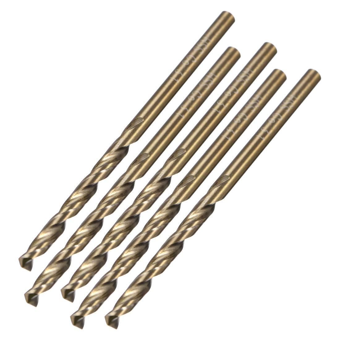 3.1mm Twist Drill High Speed Steel Bit HSS M35 5/% Co 5pcs