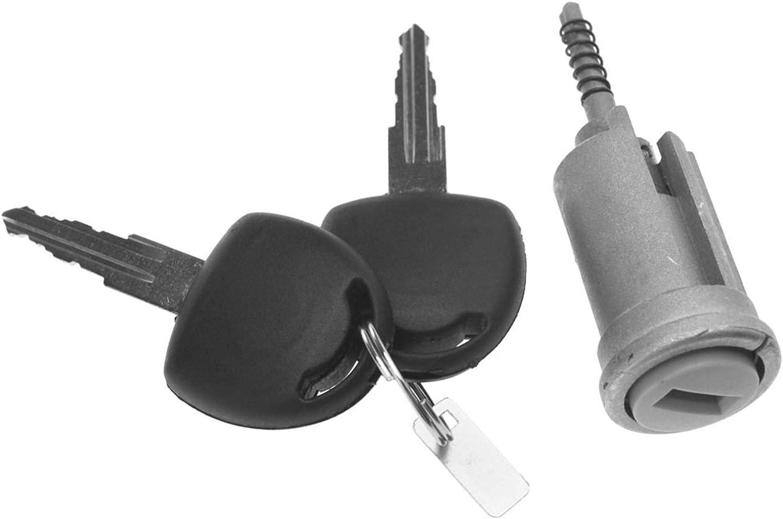 D2D - Kit de reparación de 2 Llaves de Encendido para Interruptor de Bloqueo de baño, Cilindro de dirección