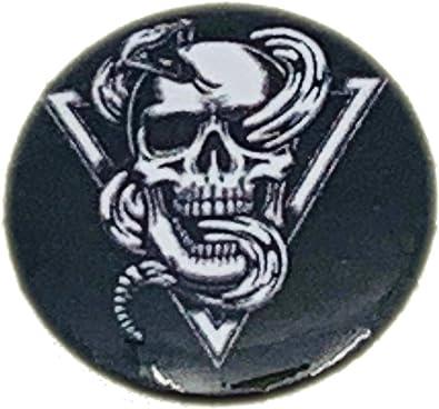 Pins badges tête de mort 1