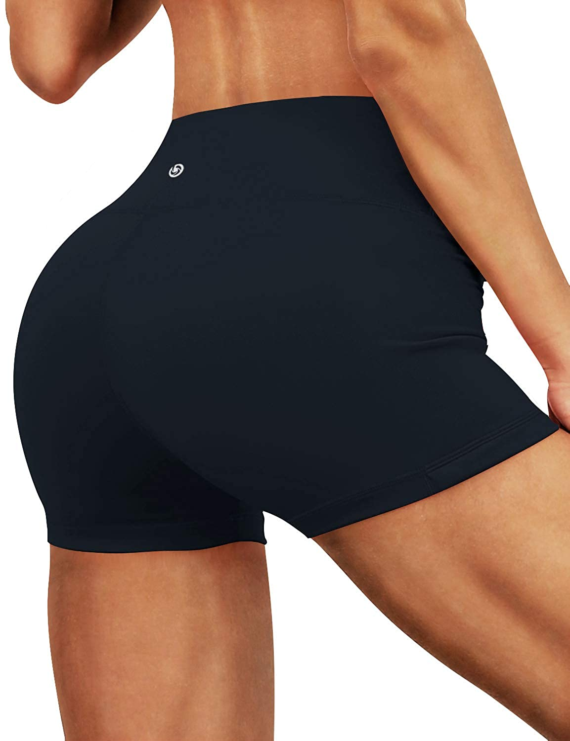 Darknavy(2.5  Inner Pocket) BUBBLELIME 2.5   4  Inseam Out Pocket Yoga Shorts Running Shorts Active