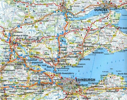 Escocia y norte de Inglaterra, mapa de carreteras. Escala 1:400.000. Freytag & Berndt.: Wegenkaart 1:400 000 Auto karte: Amazon.es: VV.AA.: Libros