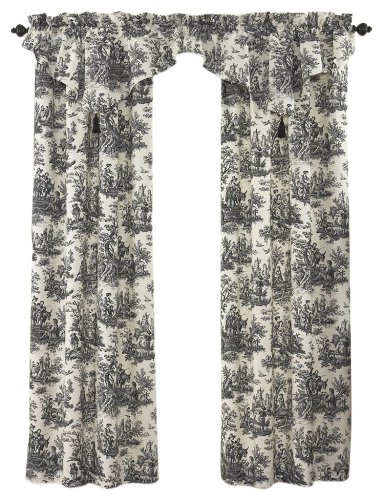 Floral Toile Curtain - 5