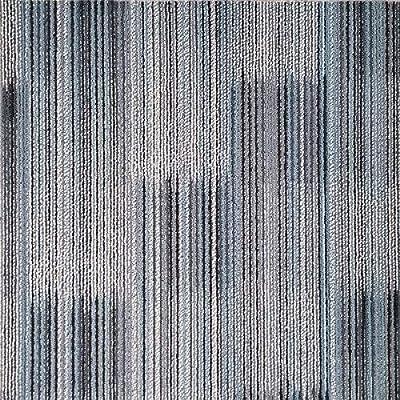 """Shaw 98730-00001 Carpet Tile-24""""x 24""""(20 Tiles/case, 80 sq. ft./case)"""