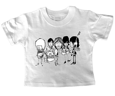 Rolling Stones Cartoon bébé T pour homme