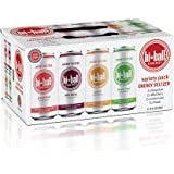 Hiball Energy 4 Flavor Seltzer Drink, Zero Sugar and Calorie, Variety Pack, 16 Fl Oz Cans, 8 Count