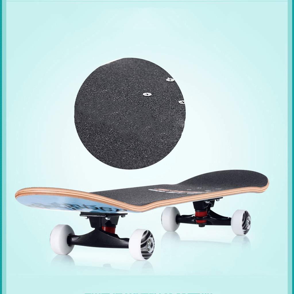 Professionelles Skateboarding Skateboarding Skateboarding mit Vier Rädern Skateboard Bilaterales geneigtes Brett-Skateboard Erwachsener Skateboarding-Straßen-Fähigkeits-Ahornbrett-Landstraßen-Brett B07KT2TC6Z Skateboards Modernes Design 5c1ed4