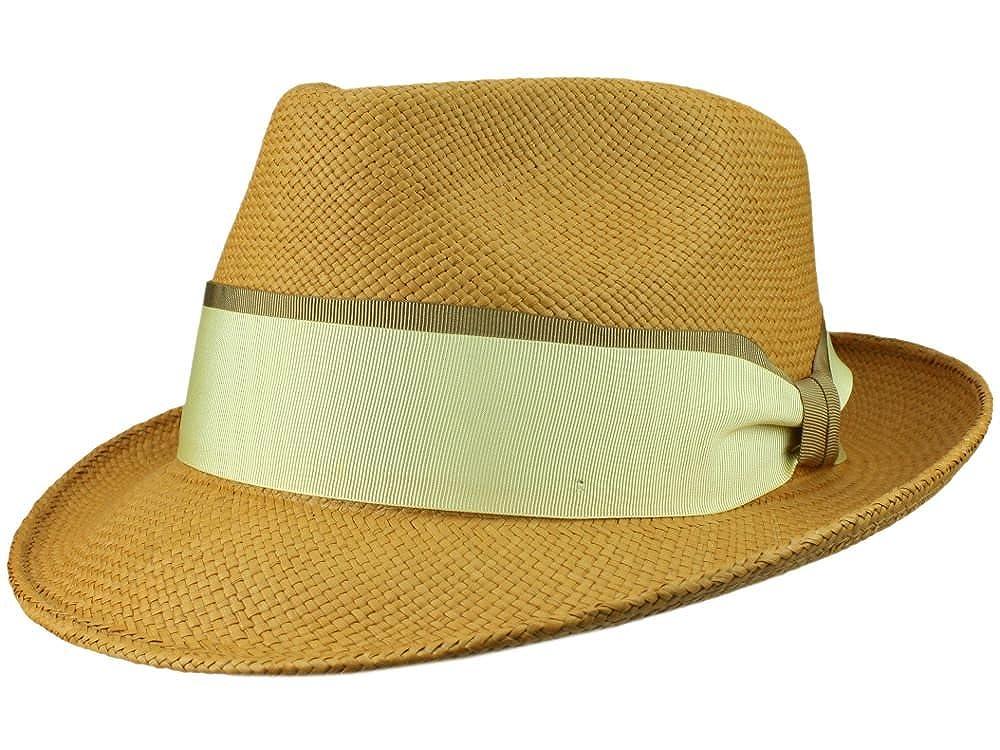 8f8d03adfbfdd Bigalli Men s Fedora Hat Quickstep - Nature  Amazon.co.uk  Clothing