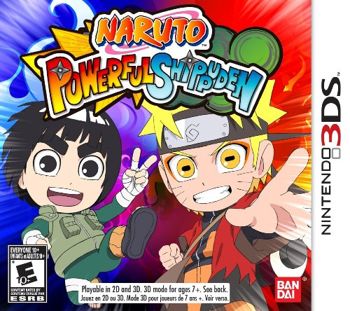Naruto Powerful Shippuden - Nintendo 3DS (Video Converge Switch)