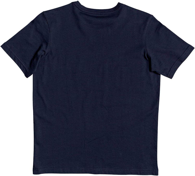 S//10 Navy Blazer T-shirt pour Gar/çon Quiksilver/™ Words Remain Bleu
