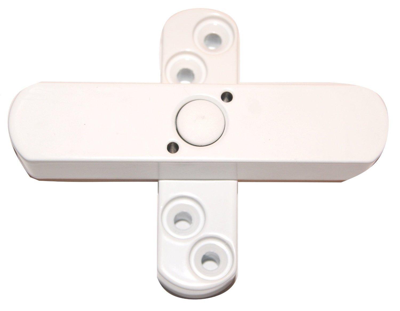 21SW 2-fl/ügelig weiss 2 x Bever Stuco Safe Fenstersicherung DIN 18104 gepr/üft