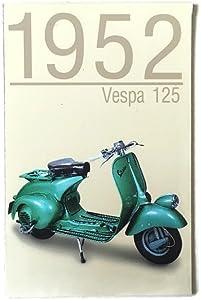 Agility Vespa 125 (1952 Year) Motorcycle Art 1 Collectible Vintage Photo Fridge Magnet