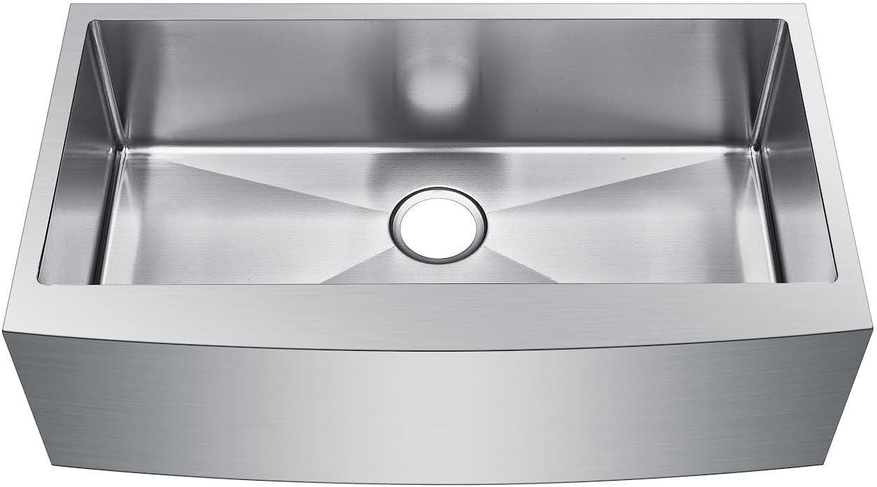 Starstar 30 inch Farmhouse Apron Single Bowl 16 gauge Stainless Steel Kitchen Sink