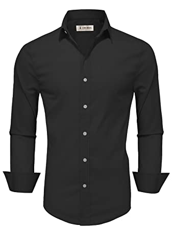 Tom's Ware Mens Casual Slim Fit Basic Dress Shirts at Amazon Men's ...